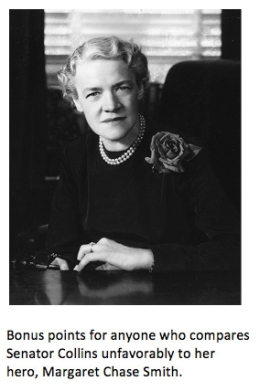 margaret chase smith with caption